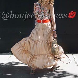 ZARA Ruffled Skirt